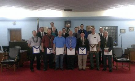 Lee Garrett raised to Master Mason