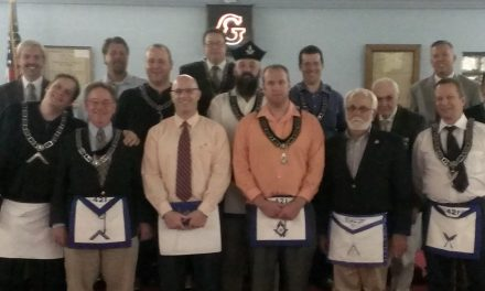 Dr. Jason Everman raised to Master Mason