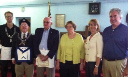 Robert Lewis Huber Receives His 50-Year Award of Gold