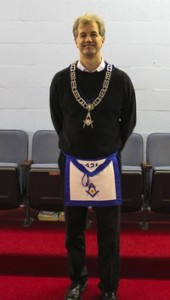 Dave Philpott Senior Deacon 2014