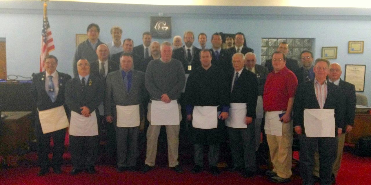 Carmel #421 and Hamilton #533 Complete 2014 Lodge of Instruction