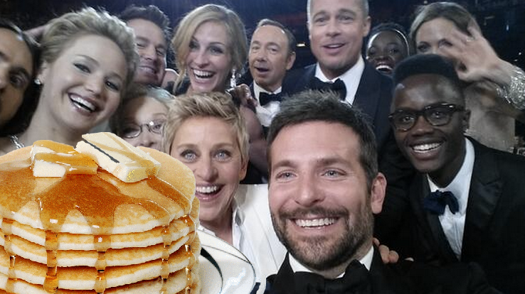 New Camera Angle Reveals Hollywood A-List Not As Self Absorbed As First Thought