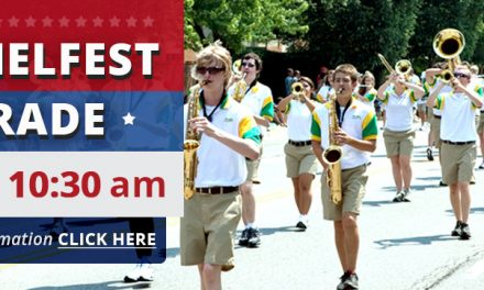 Come and Walk With Carmel #421 in the CarmelFest July 4th Parade