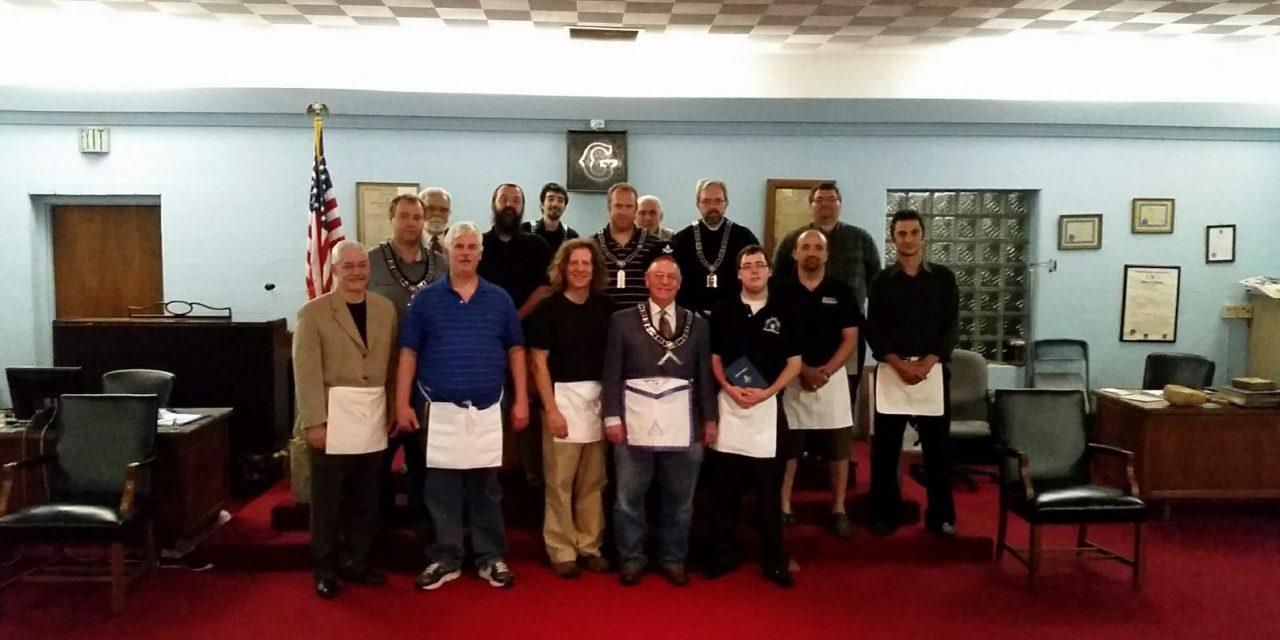 Three New Carmel #421 Master Masons