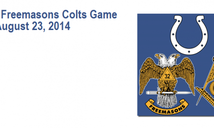 Indiana Freemasons Colts Game‏ – August 23rd