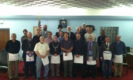 Congratulations to Carmel Lodge 421's newest Master Masons, Brothers Gustavo DePaula and Ty Nuckols.