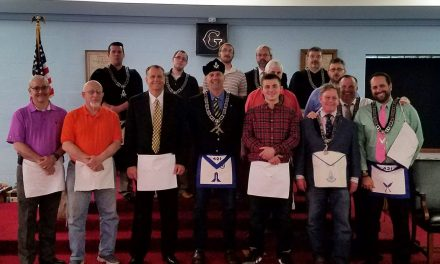Carmel Masonic Lodge #421 congratulates two new Fellow Crafts