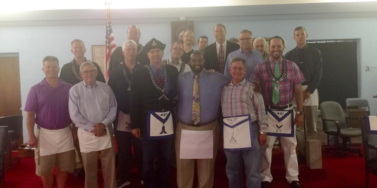 Clayton K. Stewart, II – Carmel Lodge's Newest Fellow Craft