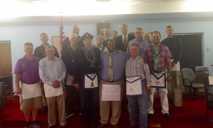 Clayton K. Stewart, II – Carmel Lodge's Newest Fellow Craft