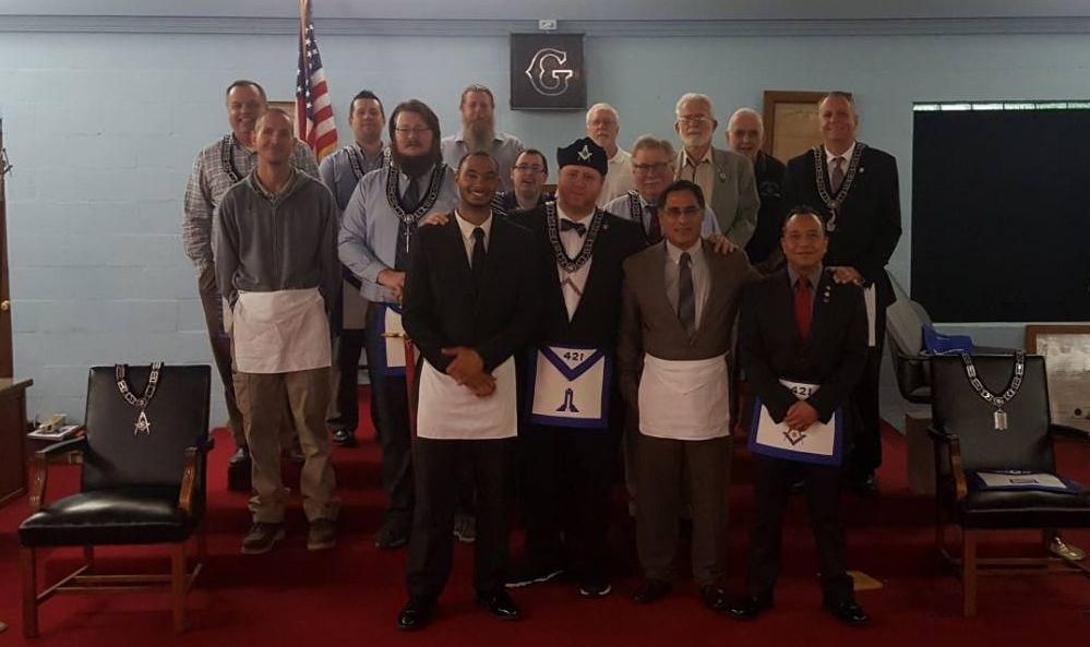 Fellow Craft Degree with N.E.C.A. (North East Corner Assoc.)