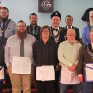 Congratulations to our newest Master Masons – Andrew Kurz, Thomas Breitweiser!