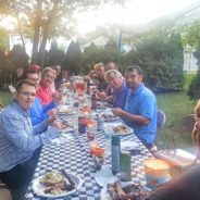 Garden Dinner Social at the Geronimo's