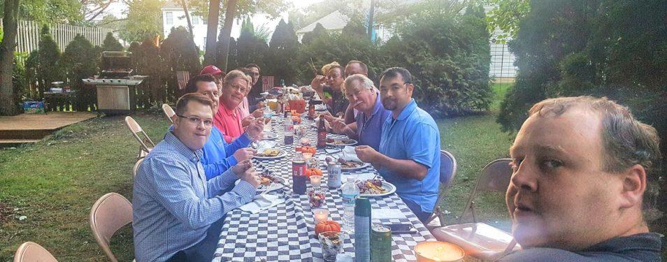 Garden Dinner Social at the Geronim...