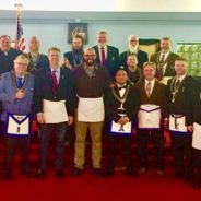 Congratulations to Carmel 421's Newest Master Mason – Chris Ndife!