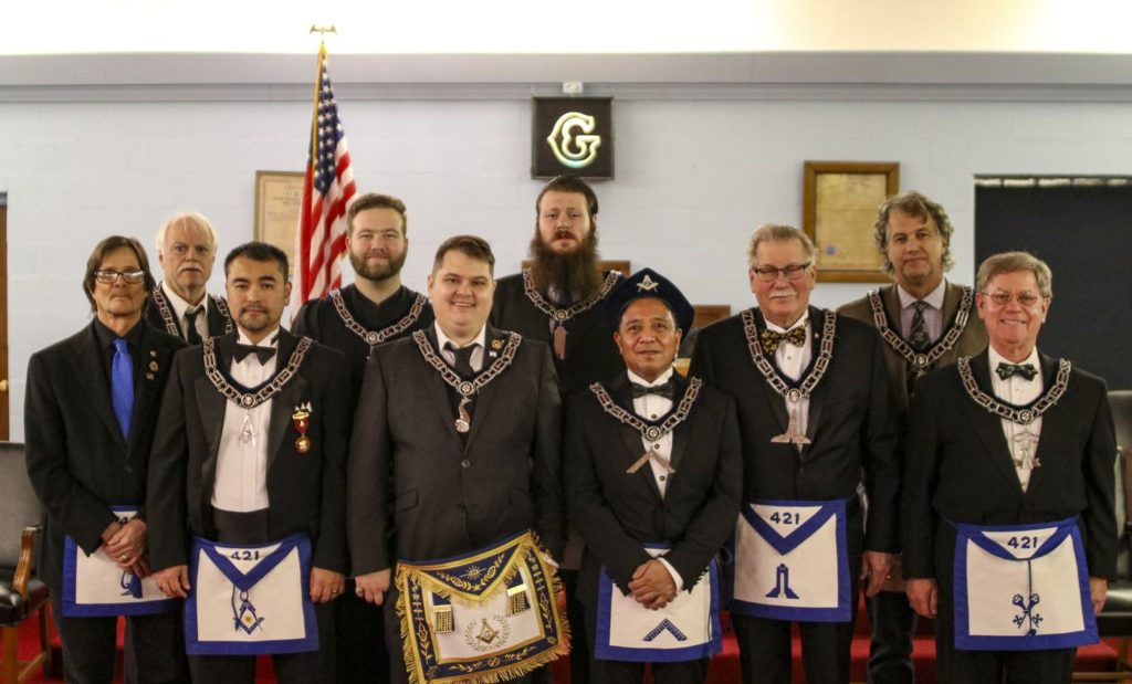 Carmel Masonic Lodge No 421 - 2020 Officers