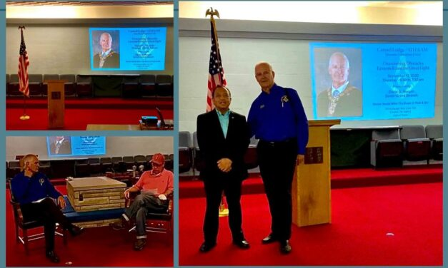 Overcoming Obstacles – Lessons From the Great Light – a Carmel 421 Masonic Education Event