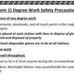 GL of Indiana: Degree Work Safety Precautions Oct 1, 2020