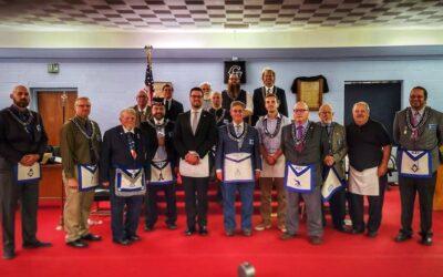Congratulations to Braden McCann – 421's newest Master Mason