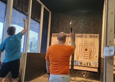 Carmel 421 Masons Social Night Axe Throwing 6-3-2021