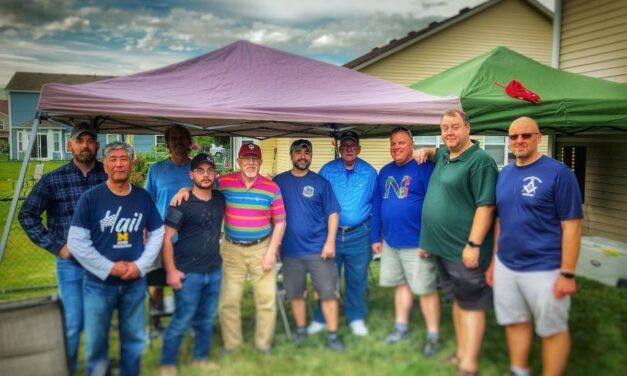 Memorial Day BBQ at Veteran Jim Williams Home