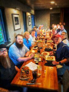 Carmel 421 Masons Social Night 7-1-21 at BRU burger