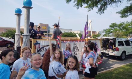 Job's Daughters Bethel #68 in 2021 CarmelFest Parade