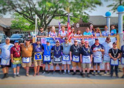 Carmel #421 Masons | CarmelFest Parade 2021